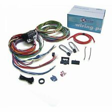 15 Fuse Complete Nose To Tail Gm Wiring Harness 12v fuse panel chevy car truck (Fits: Truck)