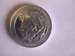 MEDAL Alvin Kraenzlein 1900 Olympic Coin Aluminum