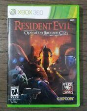 Resident Evil: Operation Raccoon City (Microsoft Xbox 360, 2012) Complete