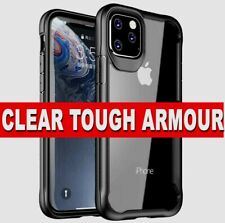 iPhone 11 Pro Max XR XS 7 SE 2 Case HD CLEAR Shockproof Hybrid Ultra Slim Cover