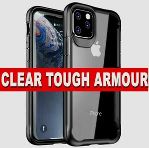 For iPhone 11 Pro Max XR XS 7 8 Case HD CLEAR Shockproof Hybrid Ultra Slim Cover