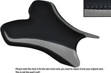 Diseño 2 Negro Y Gris Personalizado Fits Yamaha 1000 Yzf R1 04-06 delantera cubierta de asiento