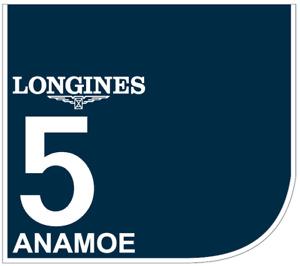 ANAMOE Original Saddle Cloth Longines Golden Slipper 2021