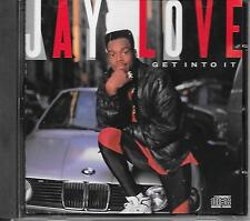 JAY LOVE - Get into it CD Album 8TR Hip Hop USA 1989 RARE!!