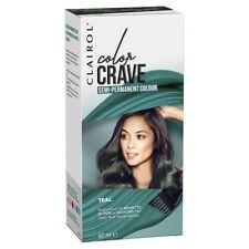 Clairol Colour Crave Teal Hair Dye Semi Permanent Blue/Green/Colourant/Temp/NEW