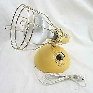 GE Deluxe Time-A-Tan Sun Tanning Lamp Timer Face Body Suntan Light 275W Indoor