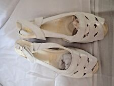 1792afc2d3645 Comfort Well® by Beacon Slingback Dress Sandals White