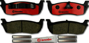 Disc Brake Pad Set-Brembo Rear WD Express 520 07110 253