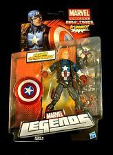(1)Marvel Legends Hasbro Hit Monkey BAF series custom...Captain America Unmasked