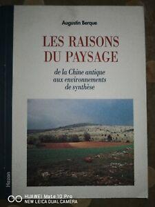 Les raisons du paysage - Augustin Berque - Editions Hazan - 1995