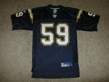 Donnie Edwards #59 NFL Football Jersey San Diego Chargers Reebok Jersey S Rare