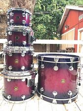 DW Collectors 5pc ~ Raspberry to Blueberry fade ~ Vintage in 10/10 condition!