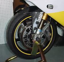 Yellow Rim Stripes R1 R6 R3 MT07 MT09 GSXR SV650 ER6 ZX6 ZX10 CBR F4i 848 S1000
