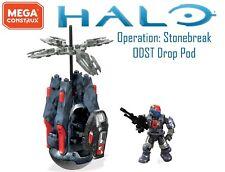 Halo Mega Construx Operation Stonebreak Drop Pod Covert Ops ODST