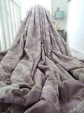 "Laura Ashley Cortinas Tejido Jacquard ""Marchmont"" francés Filigrana Interlined * enorme"
