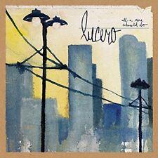LUCERO - ALL A MAN SHOULD DO  CD NEW!