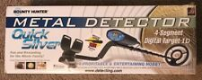 Bounty Hunter QSI Quick Silver Metal Detector Free Shipping