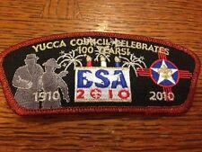 MINT CSP Yucca Council SA-69 100th Anniversary Red Mylar Border