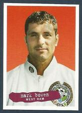 PANINI PFA FOOTBALL 97 #036-WEST HAM UNITED & WALES-NORWICH-TOTTENHAM-MARK BOWEN