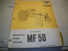 ORIGINAL Massey-Ferguson MF 50 Tractor  Parts Book Manual