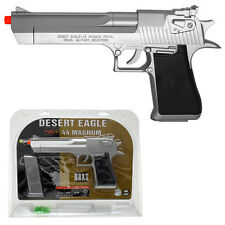 Officially Licensed Desert Eagle .44 Magnum Spring Airsoft Pistol Gun Silver