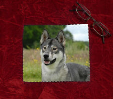 Siberian Husky Dog Microfibre Glasses Camera Lens Phone Screen Cleaning Cloth