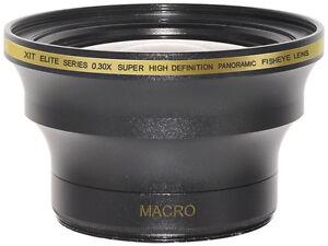 Fisheye 0.30x Wide Lens 52/58mm + macro for Digital SLR camera,camcorder,NEW,USA