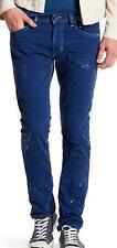 New with Tag - $278.00 Diesel D.N.A. Thavar Blue Splatter Skinny Jean Size 38x32