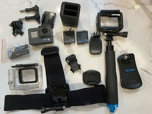 GoPro Hero 5 Action Camera - Black With Accessories