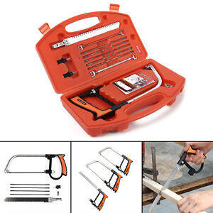 Protable 11 in 1 DIY Saw Hand Set for Wood Glass Tile Metal Cutting Working Tool