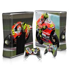 Xbox 360 Slim - Bike - Sticker Set Protective Skin Console & Controllers - 0180