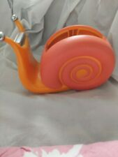 Boston Warehouse Cool Bright Colored Snail Tape Dispenser. Pre-owned