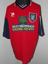 "1997-99 West Bromwich Albion Away (46/48"") Shirt Jersey Trikot Camiseta Maglia"