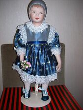HANNA---BY MICHELE SEVERINO---PORCELAIN SHOULDER HEAD DOLL---NEW