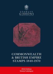 NEW - 2022 Commonwealth & British Empire Stamp Catalogue 1840-1970 - SAVE 15%