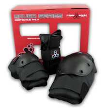 Triple Eight Skate Saver Series 3-Pack Wrist Guards, Knee & Elbow Pads, SIZE MD