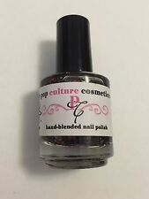 POP CULTURE NAIL POLISH BE MINE FRANKENSTEIN HALLOWEEN GLITTER LACQUER INDIE