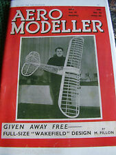 AEROMODELLER 1939 MAY  42ND ISSUE FACSIMILE MODEL AIRCRAFT AVIATION