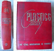 VINTAGE 1945 PLASTICS ENCYCLOPEDIA