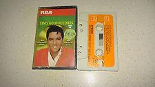 elvis presley gold records 4 music cassette    FAST DISPATCH