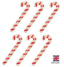 6 x LARGE INFLATABLE CANDY CANES Christmas Blow Up Stick Cane Stocking Filler UK