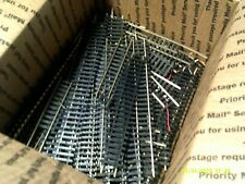 """ATLAS nickle silver assorted sizes 1""""- 9"""" straight, curved, and switches (used)"""