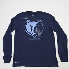 Memphis Grizzlies Nike Nike Tee Long Sleeve Shirt Men's Navy New with Tags