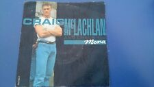 "CRAIG MCLACHLAN AND CHECK 1-2 - MONA 7"" VINYL SINGLE"