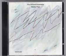 THE HILLIARD ENSEMBLE - WALTER FRYE CD ALBUM ECM 1993 GERMANY