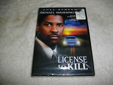 License to Kill (DVD, 2007) full screen denzel washington sealed