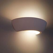 """Wandleuchte """"DINAS"""" Keramik Wandlampe Lampe Leuchte Gipslampe 1045"""
