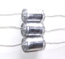LOT 3 Condensateurs Styroflex - NEUFS 10nF - 600V - 0.010uF - 10000pF - 10%