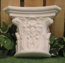 Corinthian Leaf Capital Corbel Shelf Bracket Latex Fiberglass Production Mold