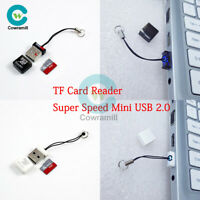 Portable SD/SDXC Micro Mini TF Card Reader Indicator Super Speed USB 2.0 Memory